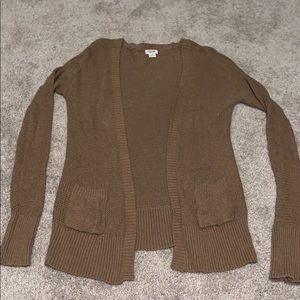 Mossimo Cardigan Sweater size Small. Brown